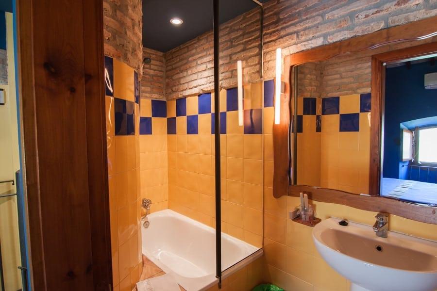 Cuarto de baño de la habitación doble duplex
