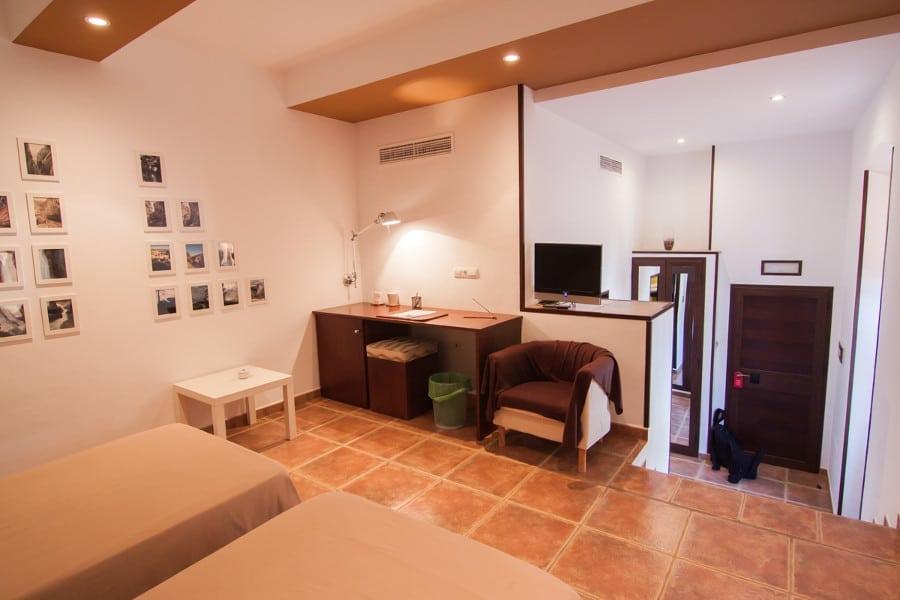 Interior de la habitación doble