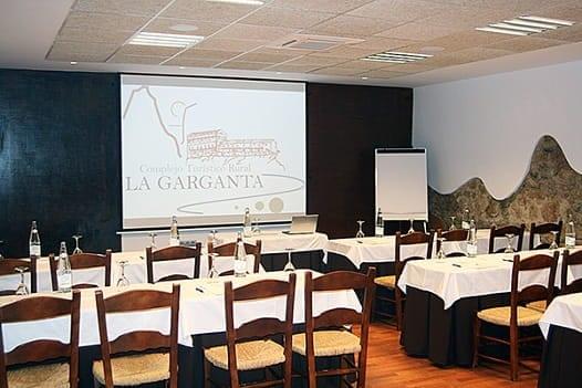Sala de reuniones 2 Complejo Turístico La Garganta