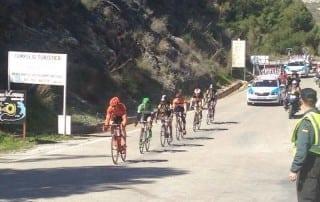 Vuelta Andalucía 2015 en El Chorro