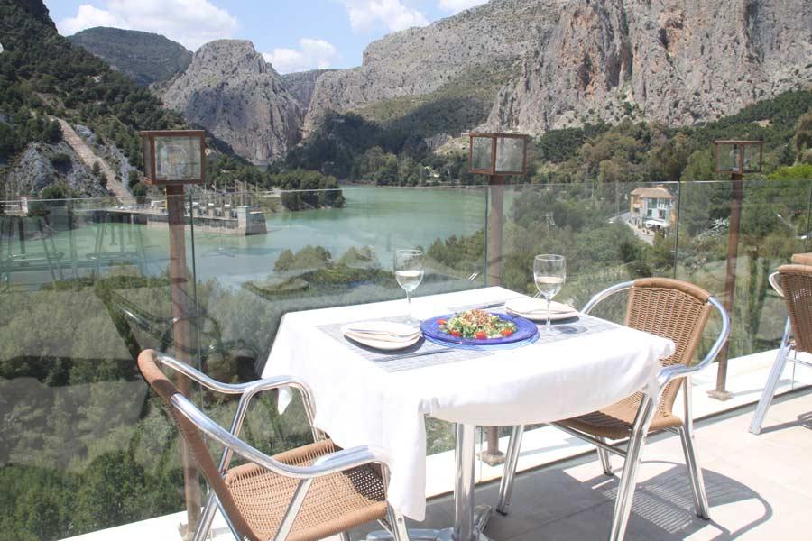 Imagen terraza Restaurante de La Garganta