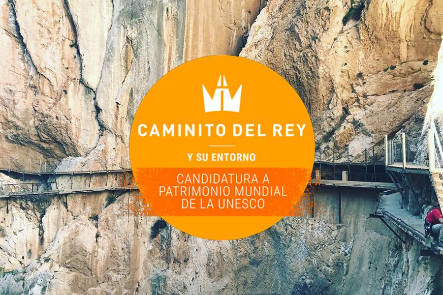Apoya al Caminito del Rey y su entorno como Patrimonio Mundial de la UNESCO