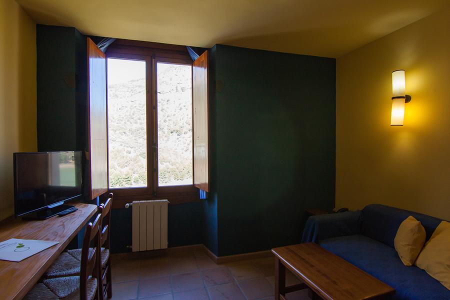 Habitación del CTR La Garganta