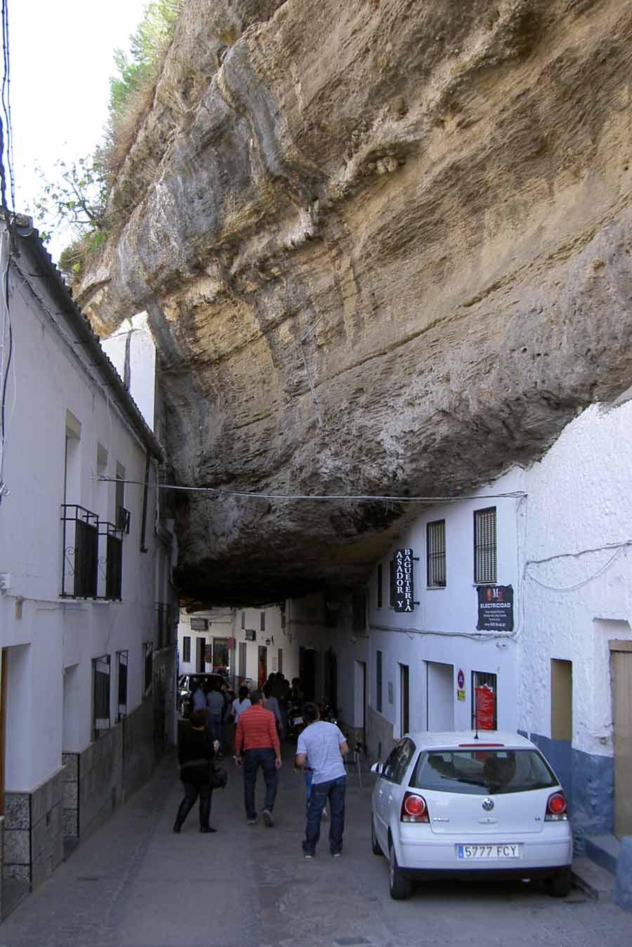 Calle Cuevas de la Sombra, Setenil de las Bodegas