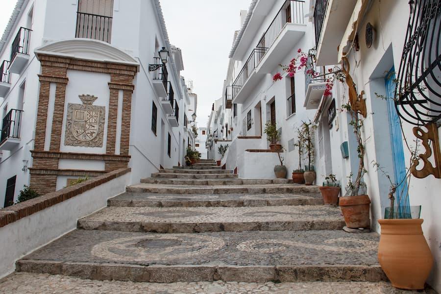 Pueblos más bonitos de interior Málaga Frigiliana