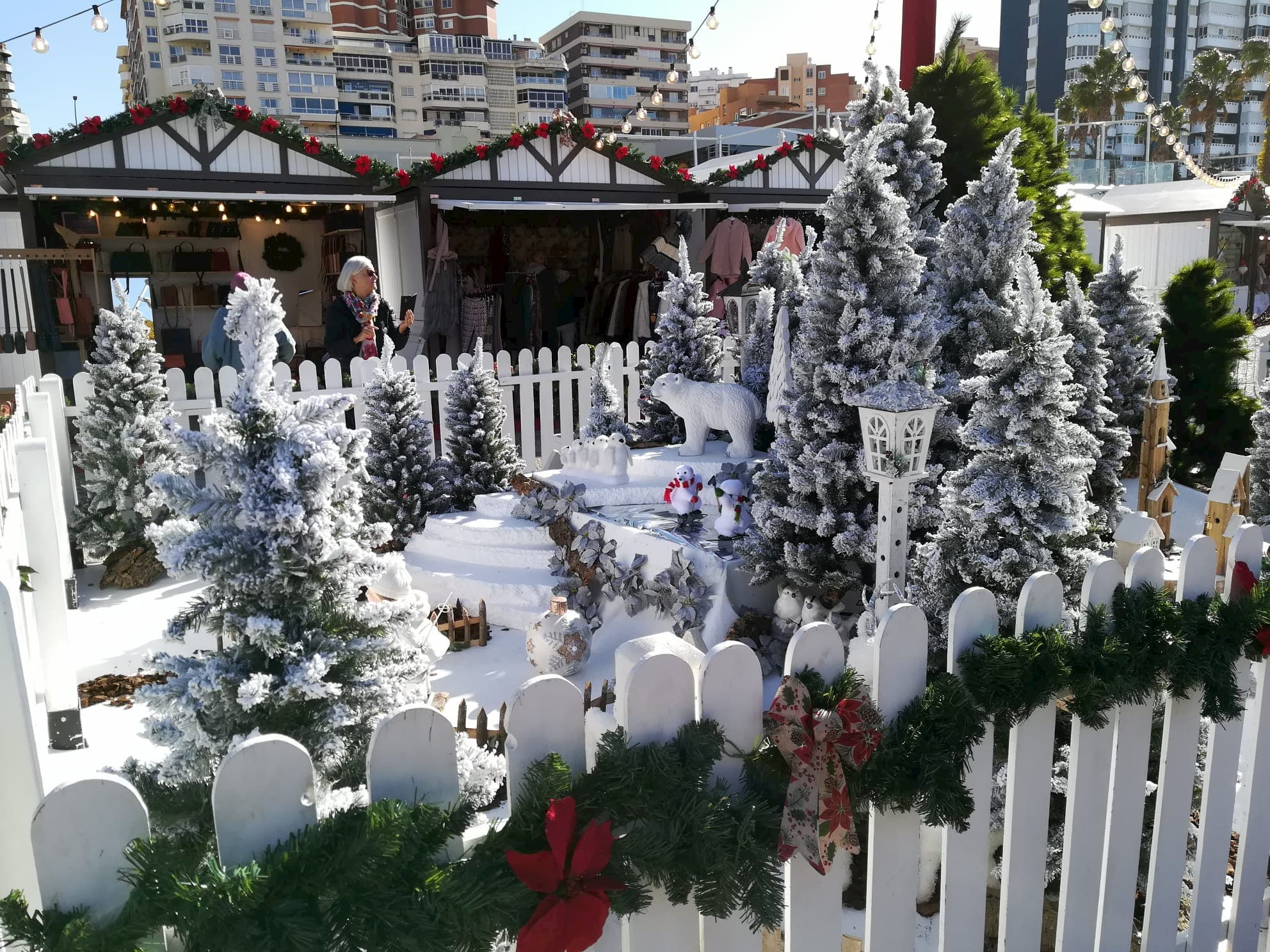 Mercadillos navideños en Málaga