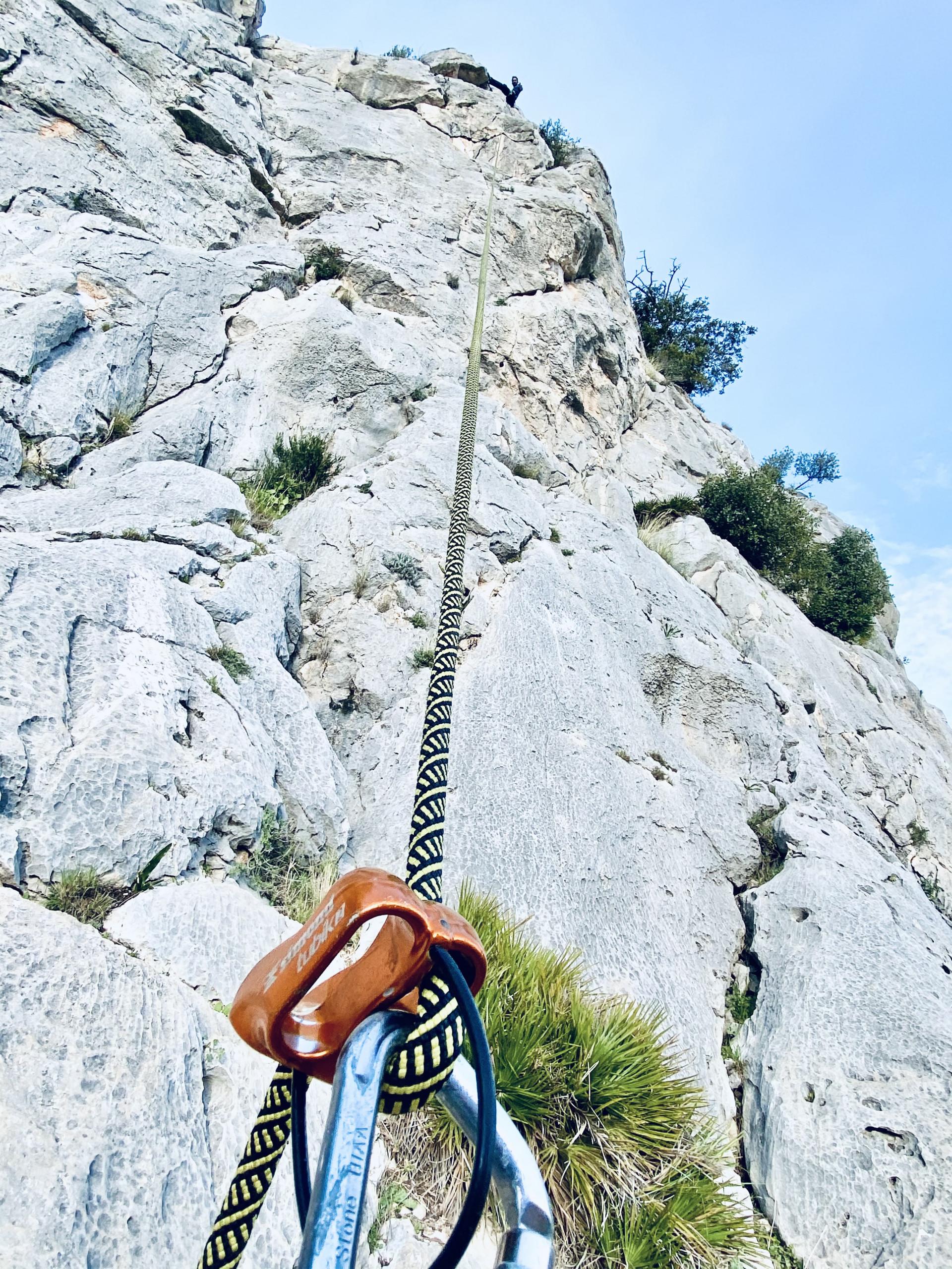 Escalada El Chorro Málaga