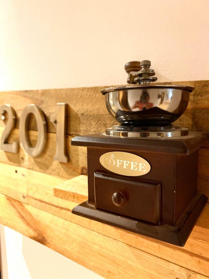 Habitaciones temáticas Lámpara de café